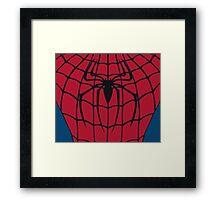 Your friendly neighbourhood Spider-Man Framed Print