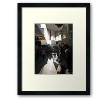 Bazaar in Istanbul-TÜRKİYE Framed Print