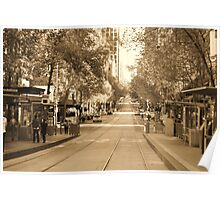 Collins Street - Melbourne Poster