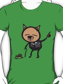Dapper cat T-Shirt