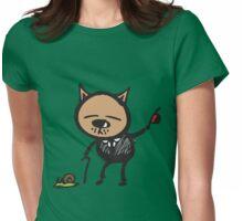 Dapper cat Womens Fitted T-Shirt