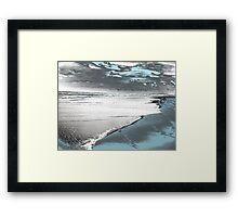 Silver Seascape I Framed Print