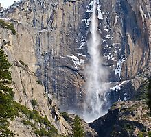 Yosemite Falls Early Spring by Bob Moore