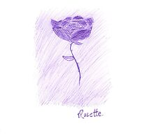 Rosette (Purple) by maddy39