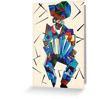 Senor Squeezebox (Mambo No 1) Greeting Card