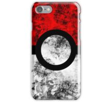 Distressed Pokeball iPhone Case/Skin