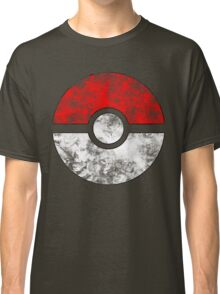 Distressed Pokeball Classic T-Shirt