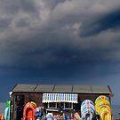 Seaside shop by LAURANCE RICHARDSON