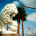 Saint Augustine Florida Bridge of Lions Poster by Rick Short