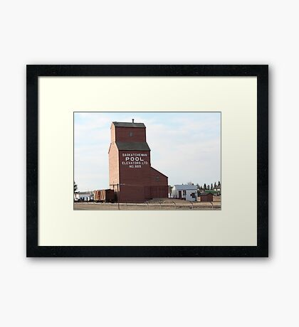 A Timeless Prairie Giant Framed Print