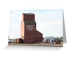 A Timeless Prairie Giant Greeting Card