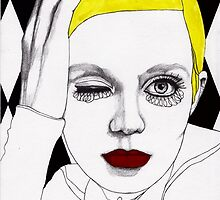 Girl with Yellow Hair by Paul  Nelson-Esch