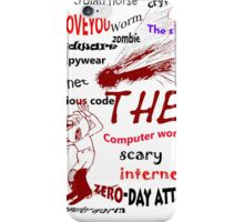 The scary internet bug iPhone Case/Skin