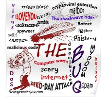 The scary internet bug Poster