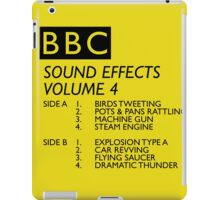BBC Sound Effects Volume 4 iPad Case/Skin
