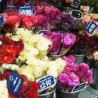 Flower Stall in Kensington, London by Charlotte Evans