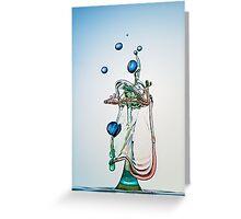 The Harp Greeting Card