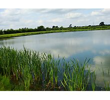 The Reservoir, Baschurch, Shropshire Photographic Print