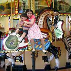 Riding On The Carousel by Linda Miller Gesualdo