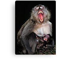 Mother & Baby Canvas Print