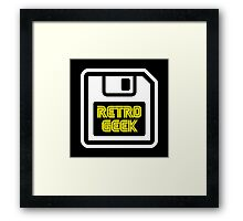 Retro Geek Framed Print