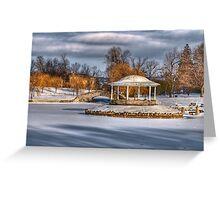 Onondaga Park -2 Greeting Card