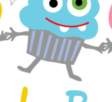 Cupcake Buddies Sticker