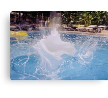 SPLASH 2 Canvas Print