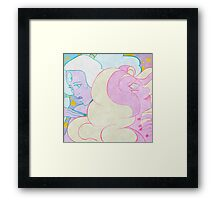 Opal & Rainbow Quartz Framed Print