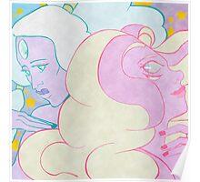 Opal & Rainbow Quartz Poster