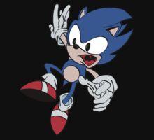 Sonic the Hedgehog Freefall Baby Tee