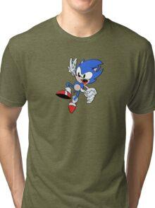 Sonic the Hedgehog Freefall Tri-blend T-Shirt