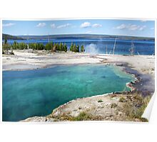 Abyss Pool, Yellowstone NP Poster