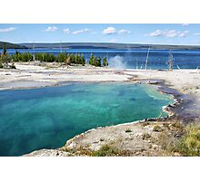 Abyss Pool, Yellowstone NP Photographic Print
