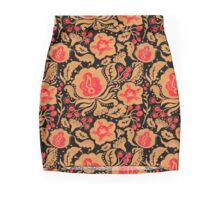 The Khokhloma Kulture Pattern Pencil Skirt