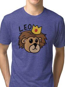 Leo - The Rising King Tri-blend T-Shirt
