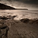 Tresaith Beach by Julie-anne Cooke Photography