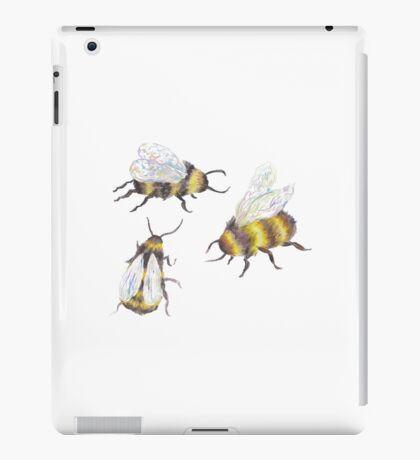 bumble bees iPad Case/Skin
