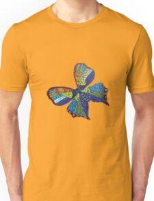 Mosaic butterfly Unisex T-Shirt