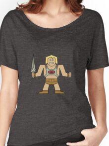 Flat He-Man Women's Relaxed Fit T-Shirt
