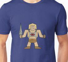 Flat He-Man Unisex T-Shirt