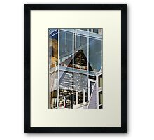 Reflections in Madison, Wisconsin Framed Print