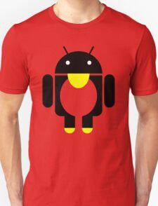 linux Tux penguin android  T-Shirt