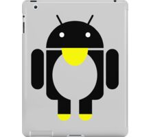 linux Tux penguin android  iPad Case/Skin