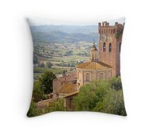 San Miniato, Tuscany, Italy Throw Pillow