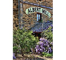 The Albert Mill Photographic Print