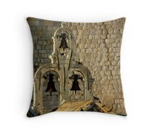 3 Bells Throw Pillow