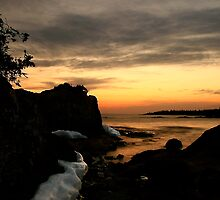 Sunset north of Pancake Bay Ontario by Eros Fiacconi (Sooboy)