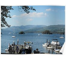 Lake Windermere Poster