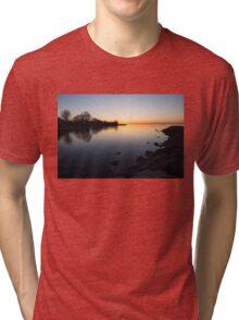 A Quiet Sunrise - Toronto, Lake Ontario Tri-blend T-Shirt